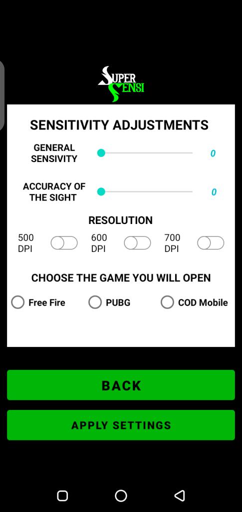 Screenshot of SUPER SENSI Apk
