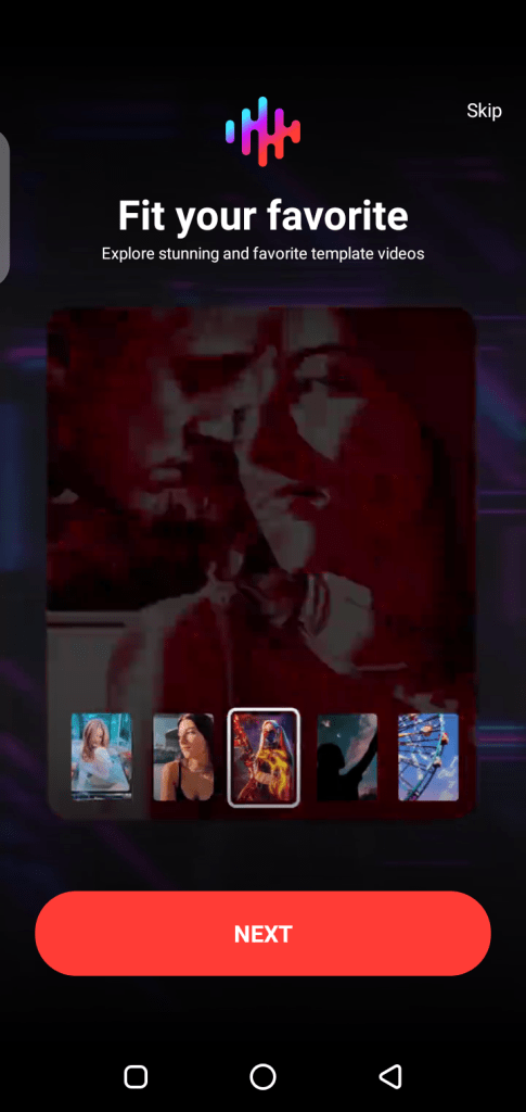 Screenshot of AI Composite Video For Android
