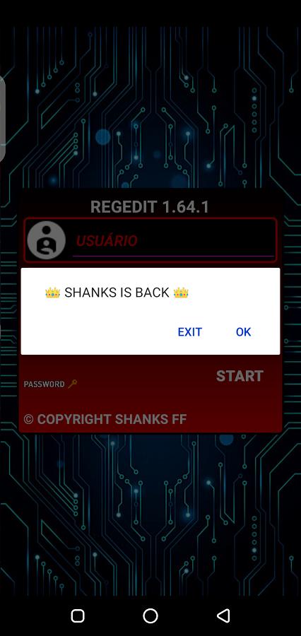 Screenshot of Injector Shanks Free Fire