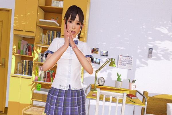 Screenshot of VR Kanojo
