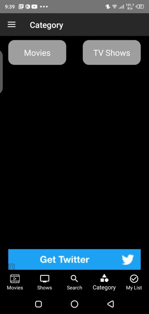 Screenshot of Tyflex Plus App Apk