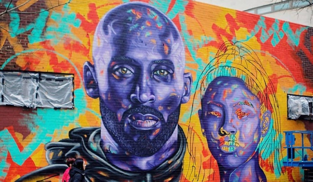 Wallach division of art, prints and photographs: A Heartwarming Kobe Gianna Bryant Tribute Mural Is Being Painted In Chinatown Secret Nyc