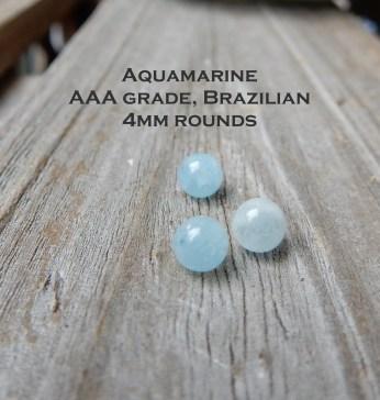 Aquamarine4mm