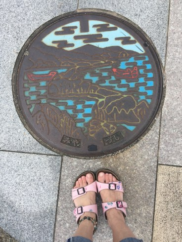 Amanohashidate Manhole Cover