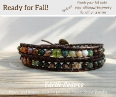 Earth Leaves Double Layer Wrap