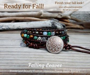 Falling Leaves Triple Layer Wrap
