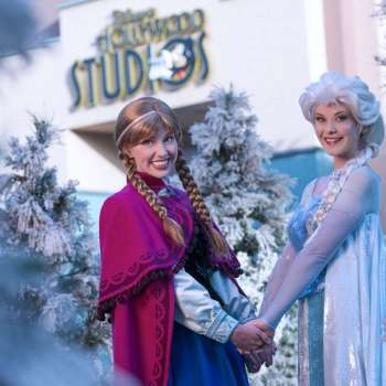 Frozen at Hollywood Studios