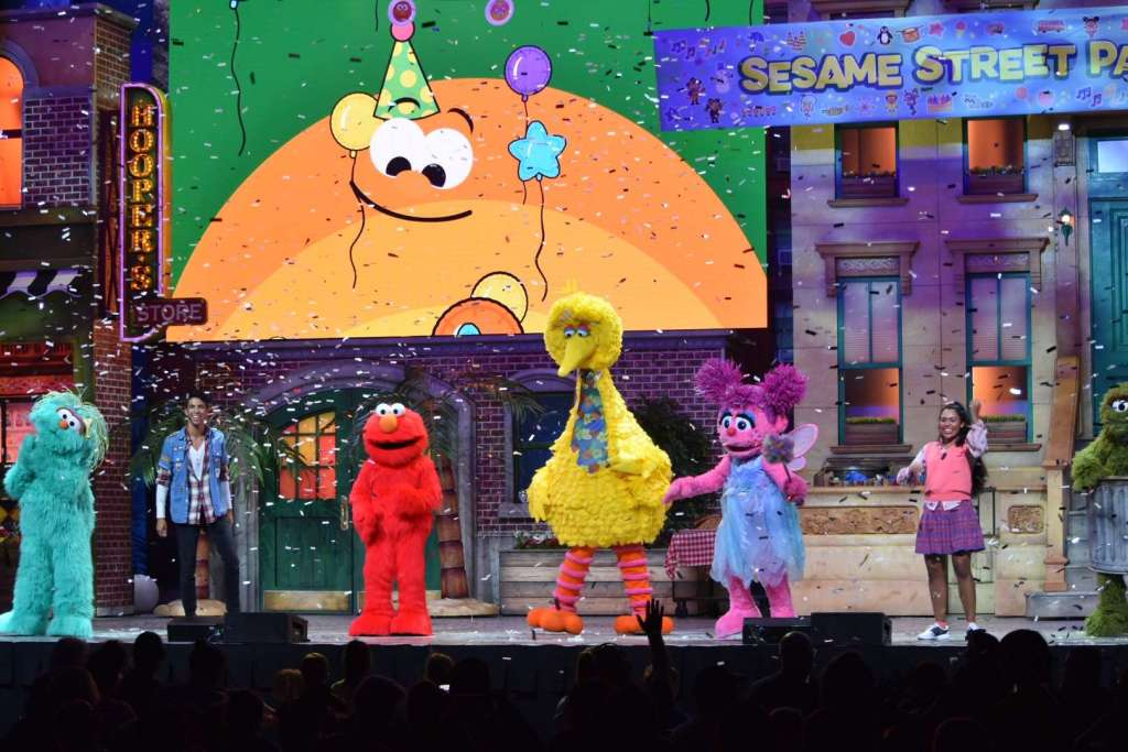 Inside Look Into Sesame Street Live! Let's Party! | OFF On ...