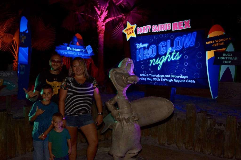 H20 Glow Nights At Typhoon Lagoon