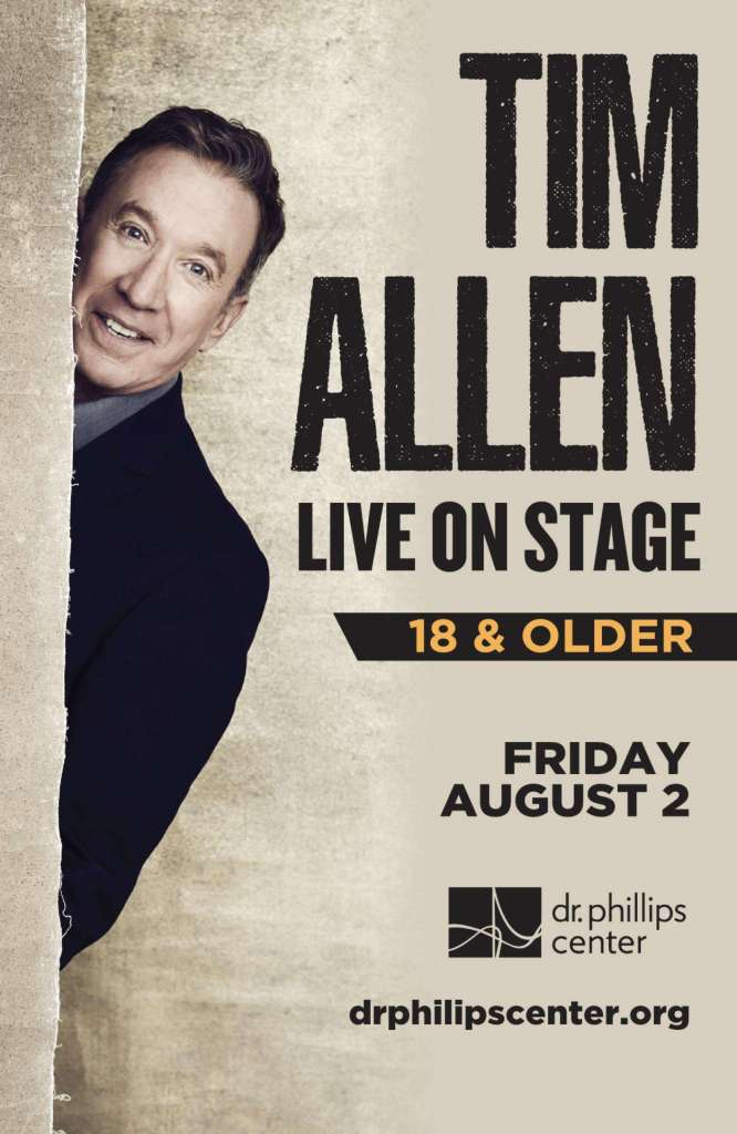 Tim Allen at the Dr. Phillips Center for the Performing Arts