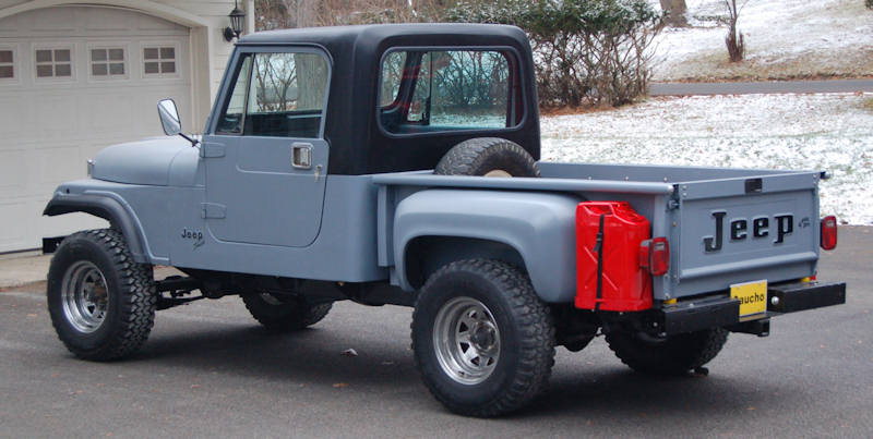 Gaucho Jeep Cj Stepside Pickup For Sale