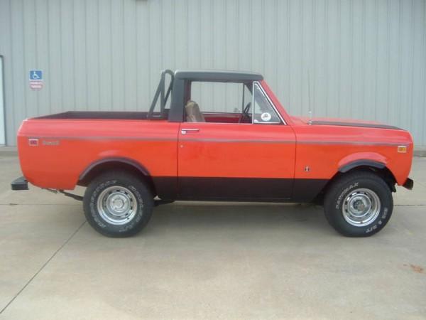 1974 International Scout Half Cab For Sale