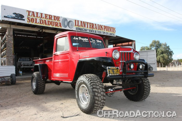 1952 Willys In San Felipe Baja Mexico