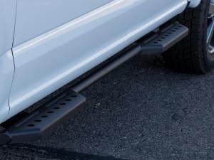 Ford Raptor/Ford F-150 Stealth side steps (4 door) in Hammer Black