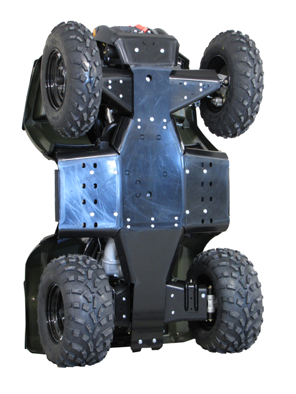 Polaris Skid plate full set (plastic): Polaris Sportsman: 400 / 500 / 800:  (2011+)