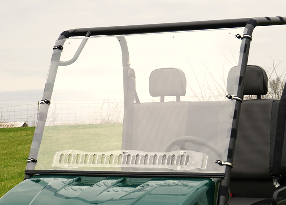 American Sportworks Landmaster 500 AERO-VENT HARD WINDSHIELD - Over Armour  Offroad