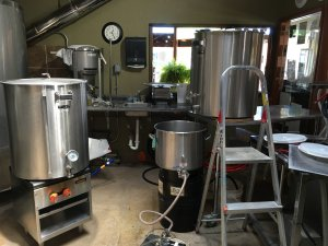 Brewhouse 1-barrel Brew System