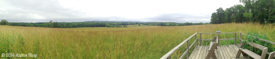 Shaw Nature Reserve panoramic photo