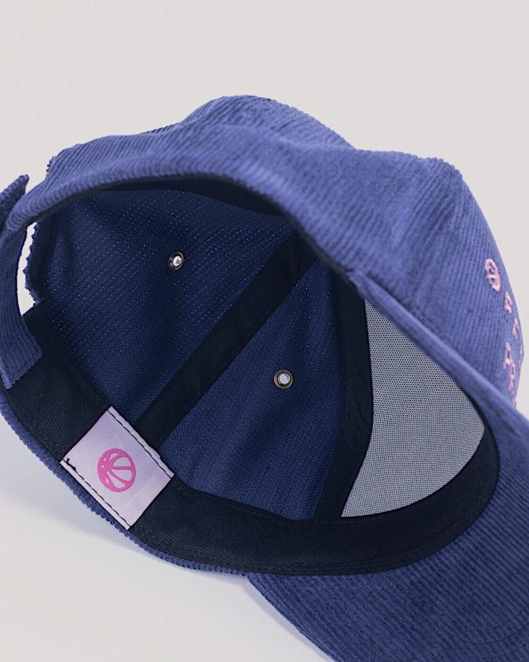 Corduroy 5 Panal Ball Cap