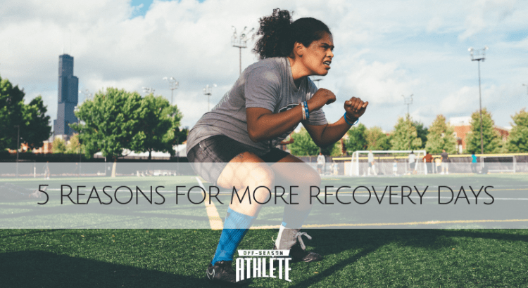 With the way youth sports are going these days, athletes might find themselves constantly pushing the limits of their body all year round without proper recovery time. Here's 5 Reasons why athletes need more recovery days.