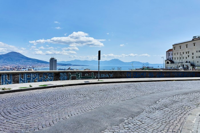 Naples Panorama from Corso Vittorio Emanuele. © Giovanni Ambrosio/Offside Productions.