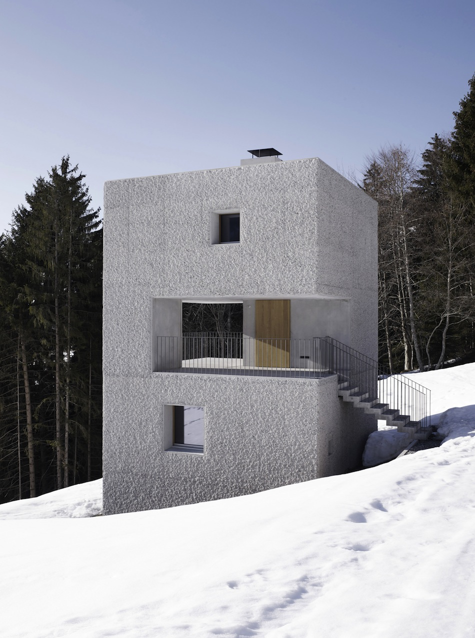 Modern Mountain House In Austria