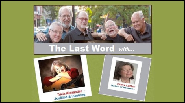 Sundays on the Square June 27, 5-7 pm - come on out to enjoy The Last Word with Tricia Alexander and Diana Laffey.