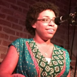 Jade Strong, featured performer August 13, 2021 Stage Left Open Mic