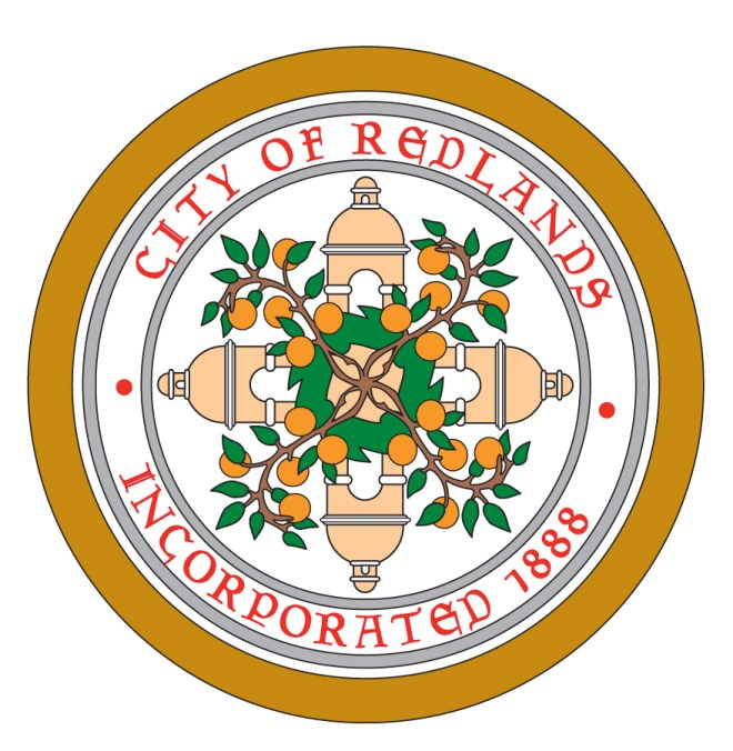 The City of Redlands seal.