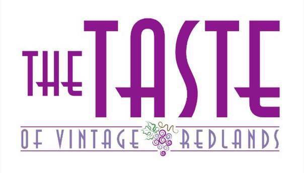 The Taste of Vintage Redlands logo