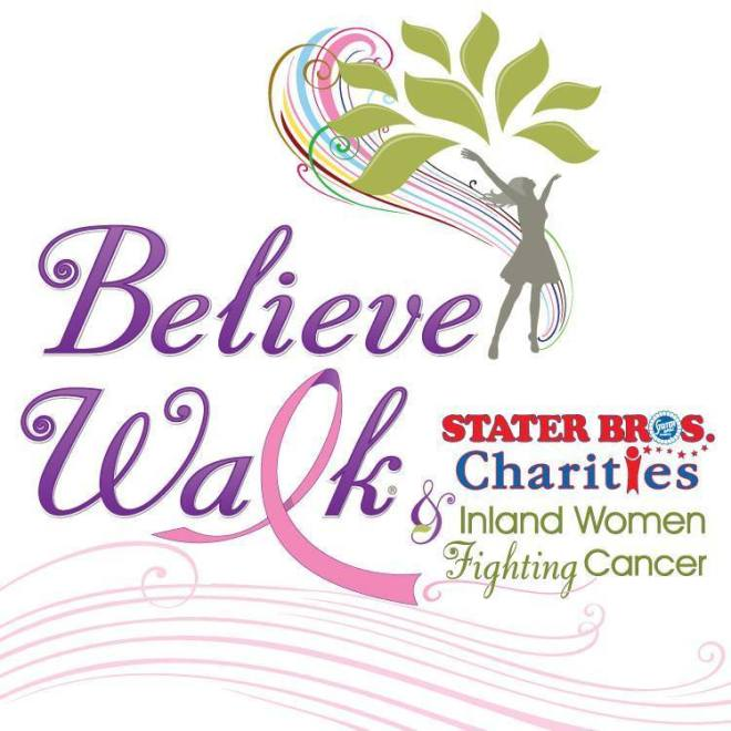 Believe Walk logo