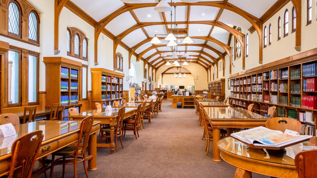 Inside of the A.K. Smiley Public Library