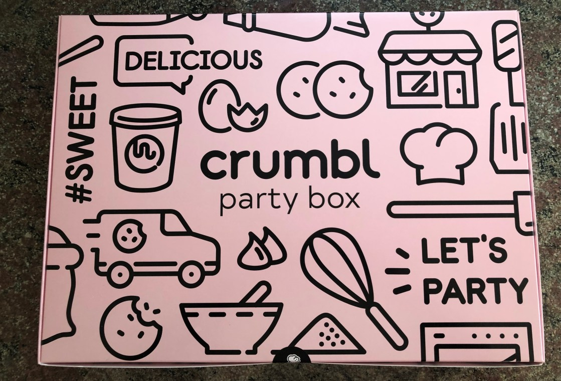 Crumbl Cookies party box
