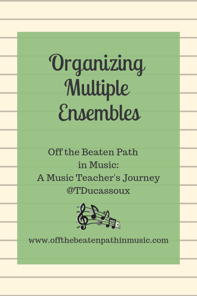 Organizing Multiple Performances