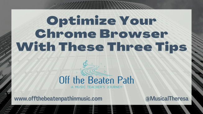 Optimize Your Chrome Browser With These Three Tips