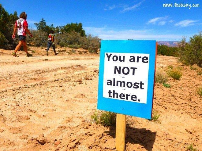 You are not almost there…