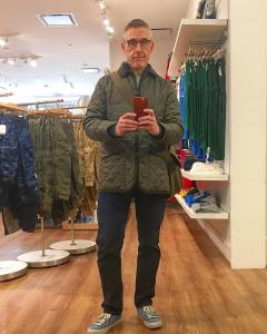 Wow thats a huge mirror With lavenhamjackets chapmanbags rpmwest goodyearblimphellip