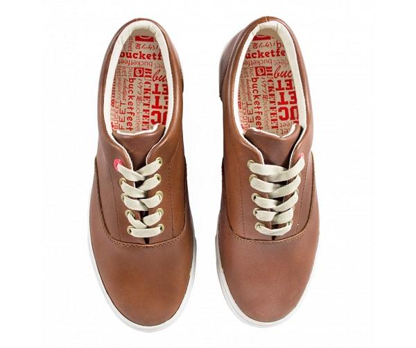 Bucket Feet Basic Brown