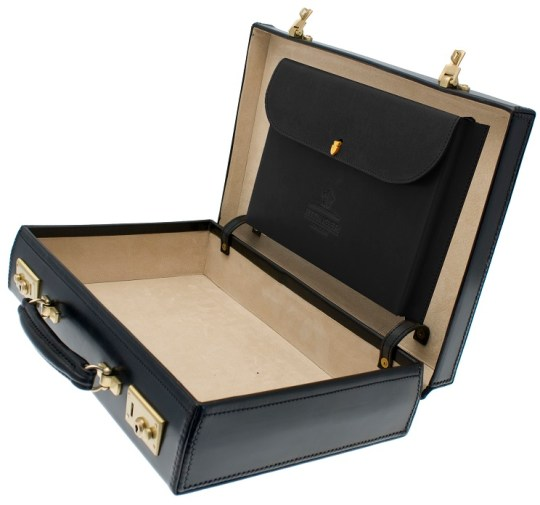 Ettinger Black Attache Case