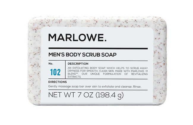 Marlowe Men's Body Scrub Bar