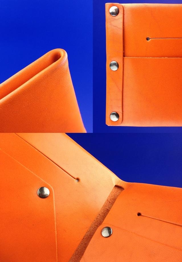 Orange Wallet Detail