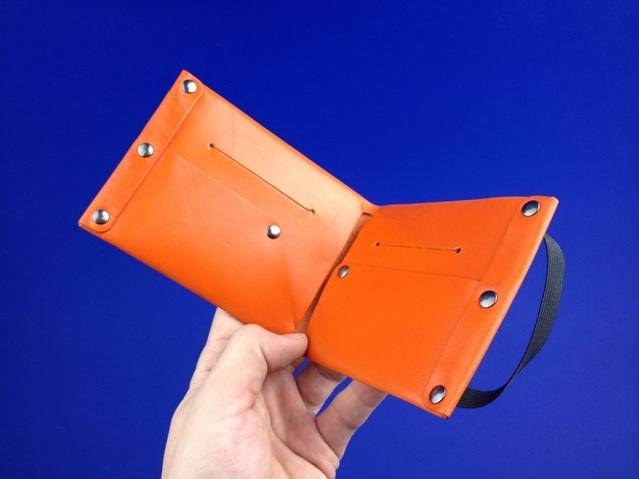 Orange Wallet Detail_2