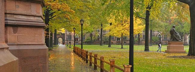 old-campus-rain