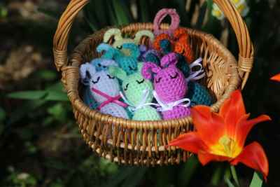 Crochet Easter Egg Bunnies