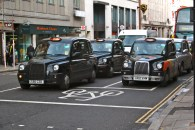 Cabs in London!
