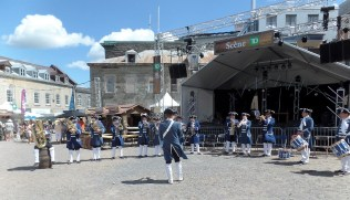 Colonial military band