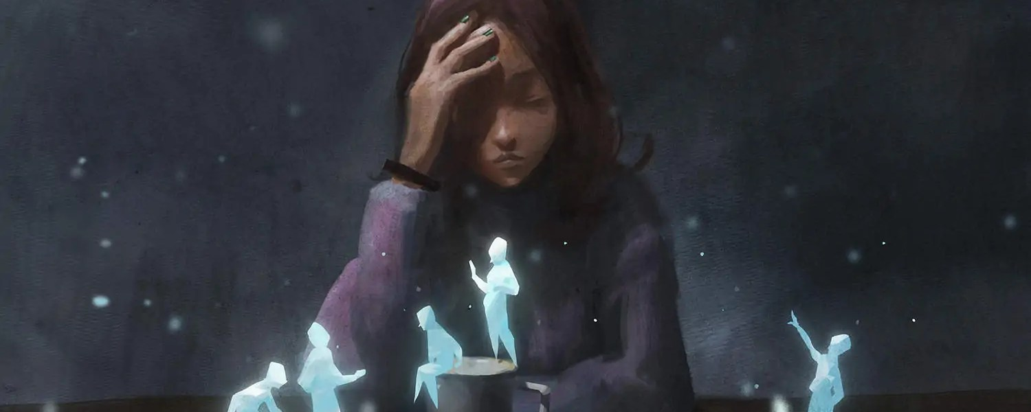 The influence of spirits can be the source of our anxiety