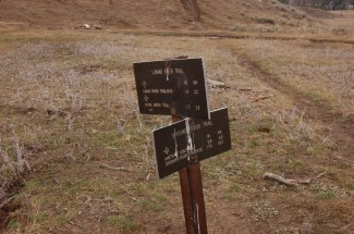 Take Left on Cache Creek Trail