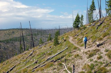 A hot hike.