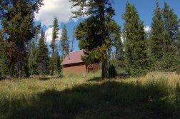 Enjoy a nice rest at the Patrol Cabin. With Winter Creek so near, this is a good time to get your water replenished for the hike up to Mt. Holmes.